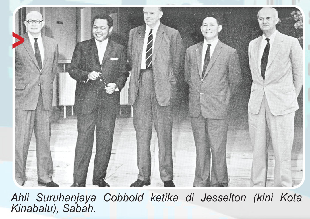 Image result for cobbold commission led to the malaysia agreement signed on 9 july 1963