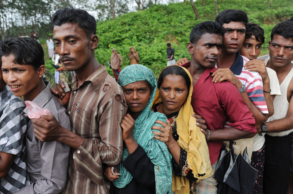 The Rohingya are one of the most persecuted minorities in the world (Pic from Venturebeat)
