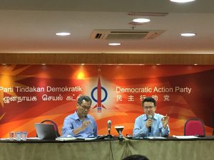 Dzulkefly (left) and Liew (right) urged for the discretionary slush fund spending by the PMD to be curbed