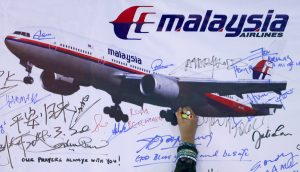 MH370 went missing in March, 2104.