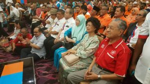 Mahathir attends the first Pakatan Harapan Convention in IDCC Shah Alam