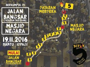 The propose Bersih 5 rally tomorrow